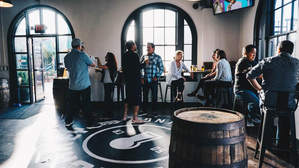 Latchkey Brewery Tasting Room