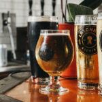 Latchkey Brewery Beers on tap