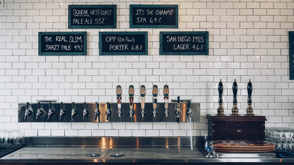 Latchkey Brewery Pour Station