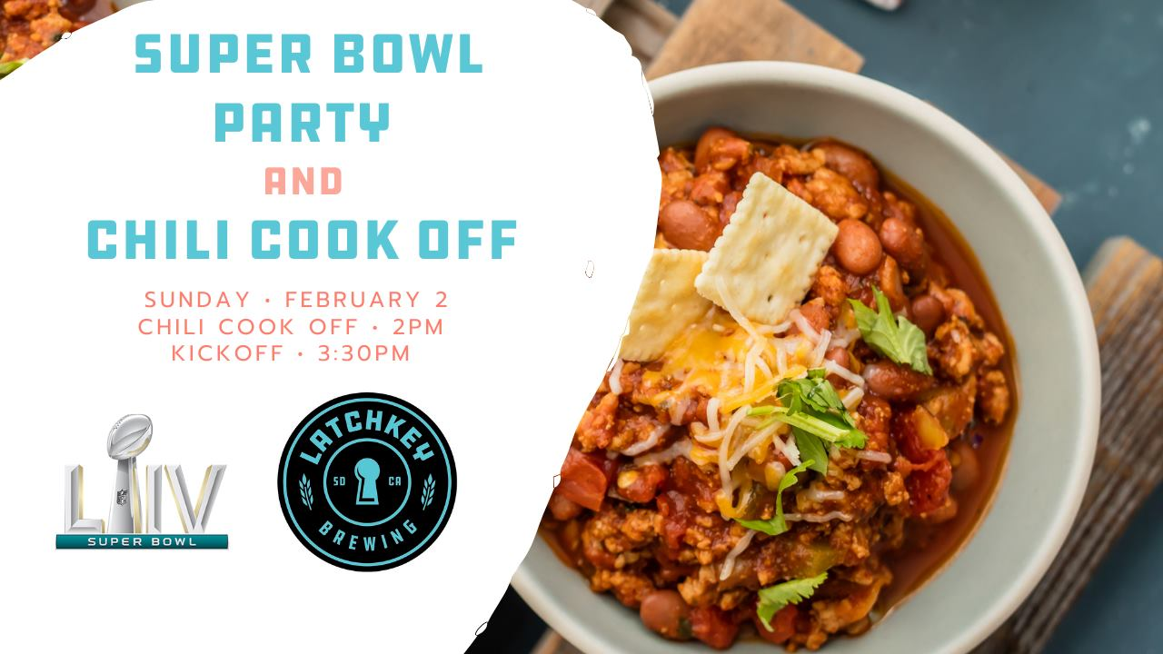 Latchkey Super Bowl Chili Cookoff